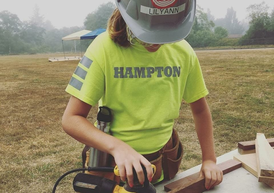 Hampton Lumber Partners with Girls Build to Bring New Camp to Tillamook, OR